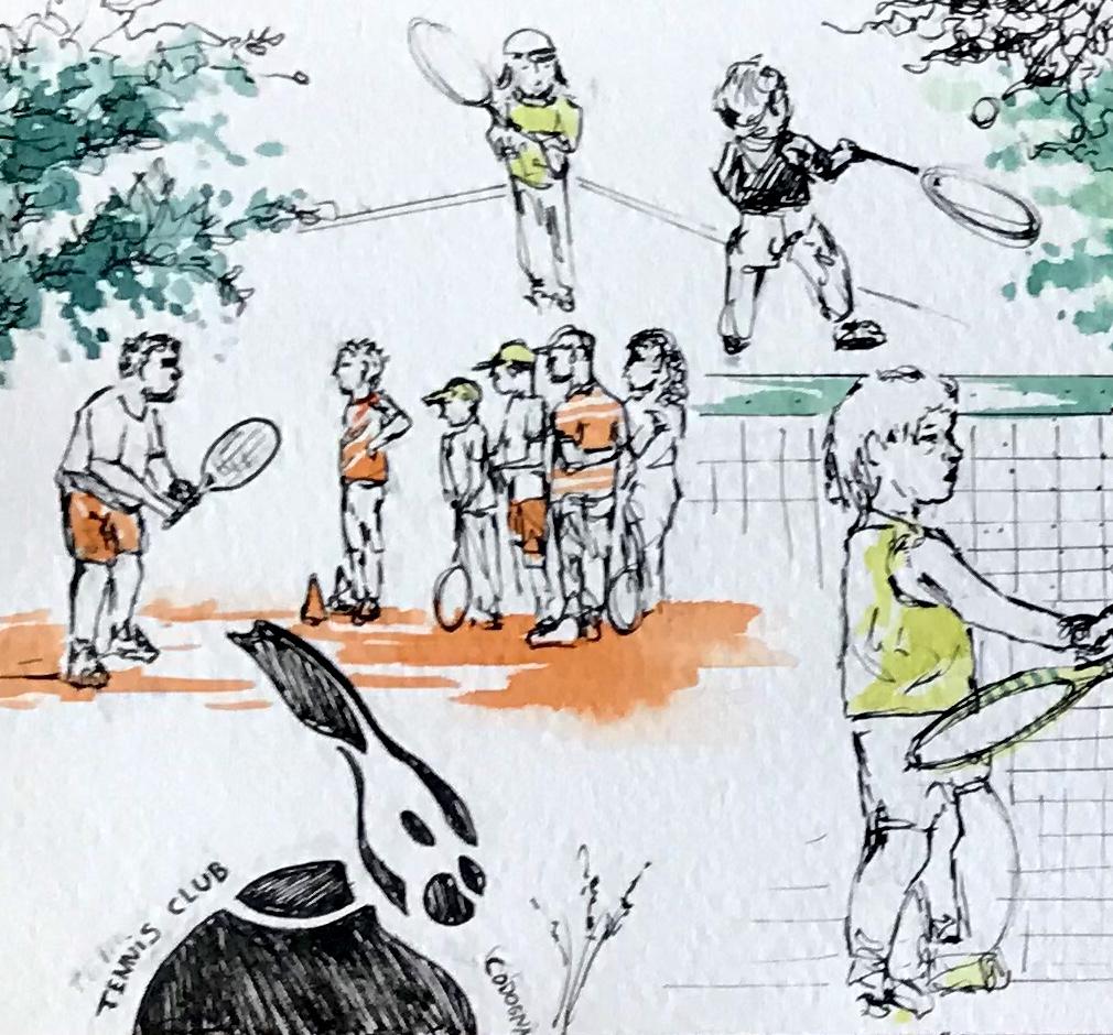 petite image tennis